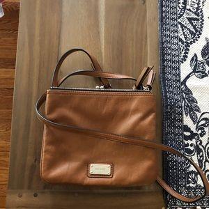 Excellent conditionNine west satchel leather purse
